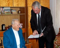 90 éves Kenéz Imre