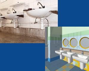 Az ötven éves Alföldi felújítja a Malom Utcai Óvoda mosdóit