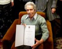 90 éves Juhász Józsefné