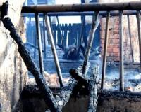 Marhák vesztek a tűzben Mártélyon