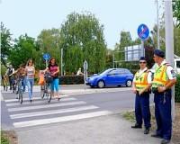 A kerékpárosokat ellenőrzik - de nagyon!