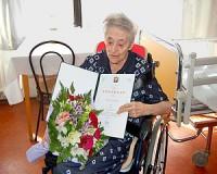 95 éves Barta Zoltánné