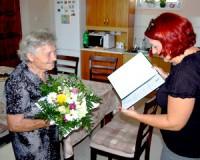 90 éves Kis Gyuláné