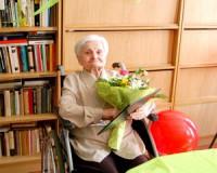 90 éves Fótos Józsefné