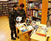 Bővül a helyőrségi könyvtár