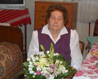 90 éves Gyovai Ferencné
