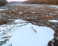 Szegedre is megérkezett a jeges ár