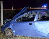 Súlyos baleset a 45-ös úton