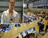 A magyar kadett válogatott tarolt Ausztriában