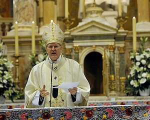 Erdő Péter bíboros húsvétvasárnapi szentmiséje
