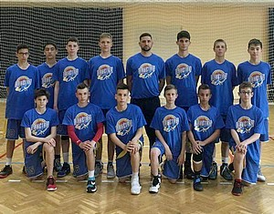 Országos döntőben az U14-es csapat