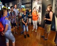 Rotary-diáktábor résztvevői jártak az Emlékpontban