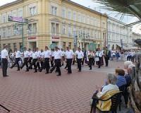 Katonazenekari toborzó Szegeden