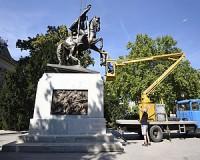Restaurálták Magyarország legnagyobb első világháborús szobrát