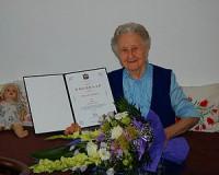 90 éves Bereczki Sándorné