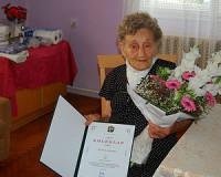90 éves Lipcsei Jánosné