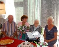 90 éves Baricsa Jánosné