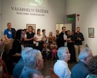 Péczely György kiállítása az Emlékpontban