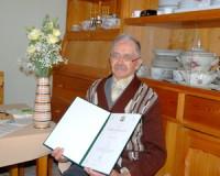 90 éves Barta József