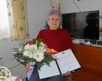 90 éves Szentandrási Jánosné