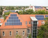 Újabb napelemeket kapott a vásárhelyi kórház