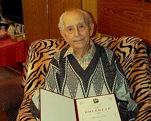 90 éves Károlyi László