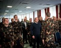 Hódmezővásárhelyen járt a honvédelmi miniszter