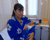 Január elsején született az év első vásárhelyi babája