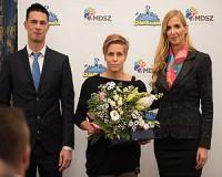 Dobra Ildikót felkészítő munkájáét díjjal jutalmazták
