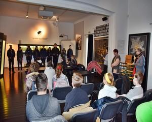 Szegedi iskolások a vásárhelyi holokauszt kiállítóhelyen