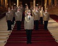 Elismerést kapott a Helyőrségi Zenekar karmestere