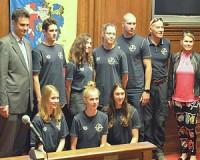 Kitüntették a HSÚVC sikeres sportolóit