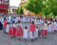 Vásárhelyi flashmob a Magyar Népviselet Napján
