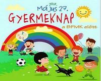 Gyermeknapi programok a BFMK előtt
