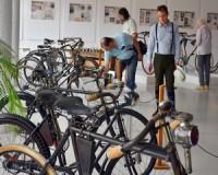 Kerékpár-matuzsálemek a BFMK kiállításán