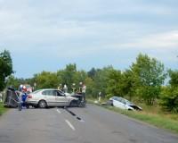 Súlyos baleset Vásárhely közelében