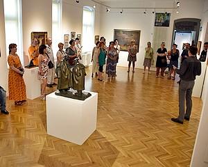 Az Alkotótábor részvevőivel zárt a kiállítás