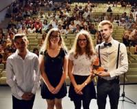 Középiskolás alkotók tárlata a Bessenyeiben