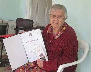 95 éves Jakó Jánosné