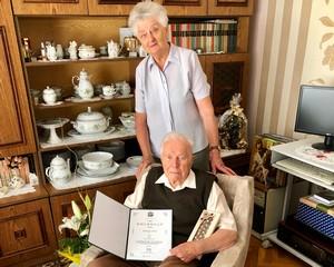 90 éves Somogyi Antal