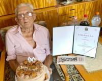 90 éves Csende Lajos