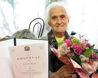 90 éves Kerekes Margit