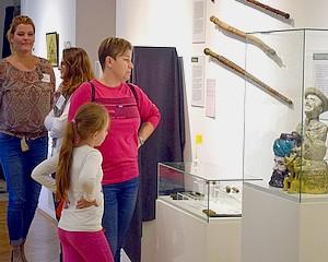 Játék a kiállításon