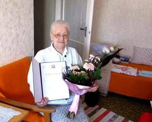 90 éves Machan Mihályné