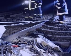 A szegedi vonat elsodort egy autót