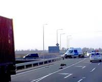 Motoros a baleset áldozata