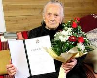 90 éves Ferge Józsefné