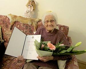90 éves Kónya Mátyásné