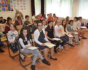 Szépkiejtési Verseny a Németh László iskolában