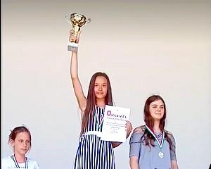 Ismét magyar bajnok lett a vásárhelyi kislány